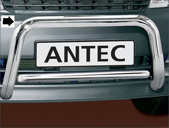 Toyota Hiace (2006-) – Antec Godkjent Frontbøyle-Lysbøyle