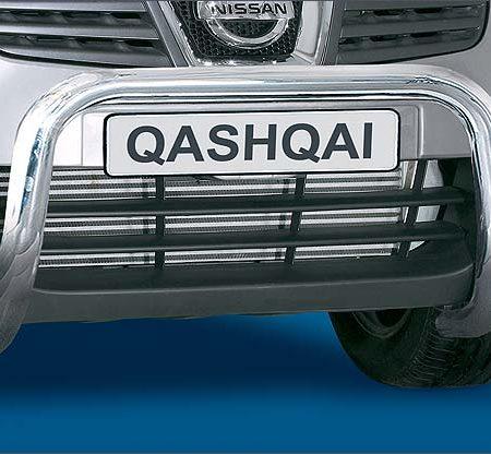 Nissan Qashqai J10 (2006) – Antec Godkjent Frontbøyle/Lysbøyle