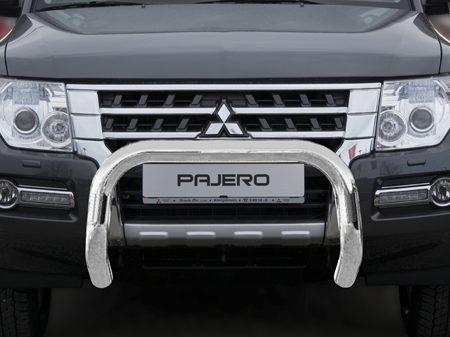 Mitsubishi Pajero V80 (2007-) – Antec Godkjent Frontbøyle m/underbeskyttelse mulighet