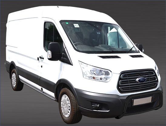 Ford Transit (2014-) – Antec Godkjent Frontbøyle/Lysbøyle m/tverrør