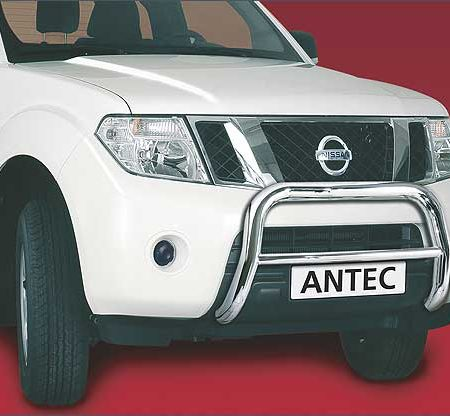 Nissan Pathfinder (2010) – Antec Godkjent Frontbøyle/Lysbøyle m/tverrør