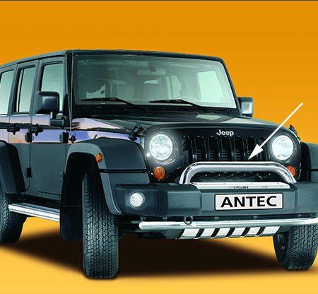 Jeep Wrangler (2006-) – Antec Godkjent Frontbøyle/Lysbøyle