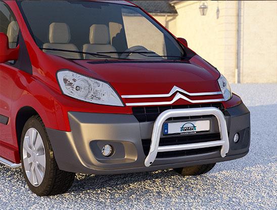 Citroën Jumpy (2006-) – Antec Godkjent Kufanger-Frontbøyle