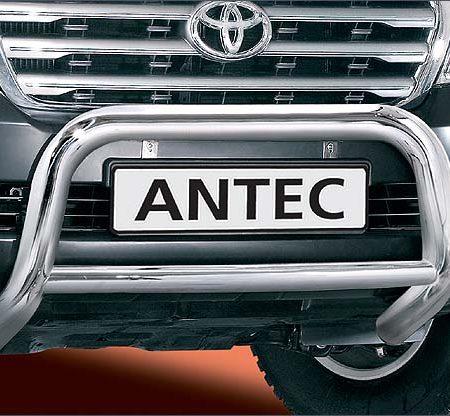 Toyota Land Cruiser V8 (2008-) – Antec Godkjent Frontbøyle-Lysbøyle m/tverrør