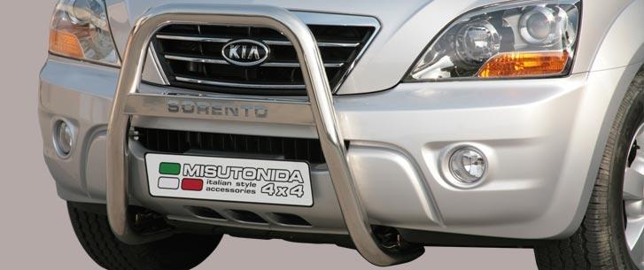 Kia Sorento (2006-) – Misutonida 4x4 Godkjent Kufanger-Frontbøyler m/Logo