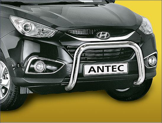 Hyundai IX35 (2010-) – Antec Godkjent Frontbøyle/Lysbøyle m/tverrør