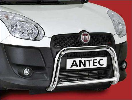 Fiat Doblo (2010-) – Antec Godkjent Kufanger-Frontbøyle m/tverrør