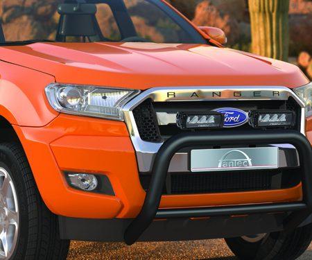 Ford Ranger (2016-) – Antec Godkjent Frontbøyle m/tverrør og Lazer lyspakke