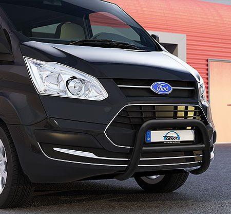 Ford Transit Custom (2013-) – Antec Godkjent Frontbøyle/Lysbøyle m/tverrør