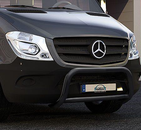 Mercedes Benz Sprinter (2013-) – Antec Godkjent Lysbøyle/Frontbøyle m/tverrør