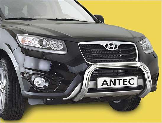 Hyundai Santa Fe (2012-) – Antec Godkjent Frontbøyle/Lysbøyle