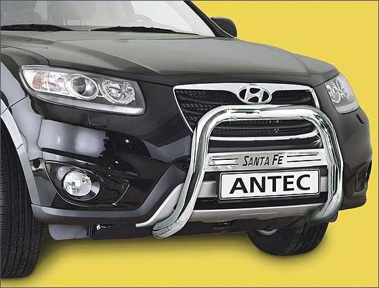 Hyundai Santa Fe (2012-) – Antec Godkjent Frontbøyle/Lysbøyle m/tverrprofil