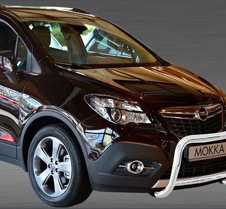 Opel Mokka X (2016-) – Antec Godkjent Frontbøyle/Lysbøyle m/tverrør