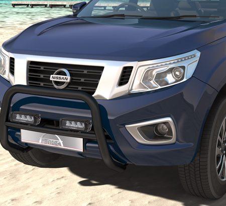 Nissan NP 300 (2016-) – Antec Godkjent Frontbøyle m/tverrør og Lazer lyspakke