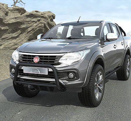 Fiat Fullback (2016-) – Antec Godkjent Kufanger-Frontbøyle m/tverrør
