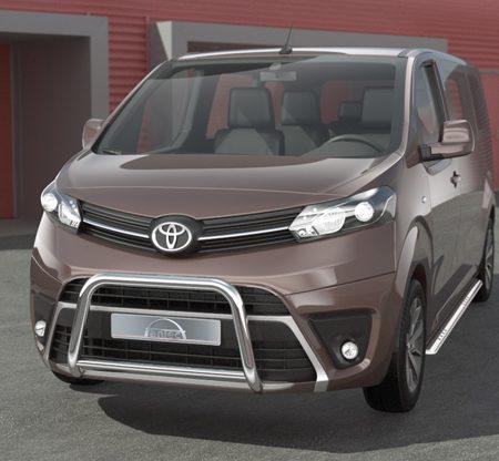 Toyota Proace (2016-) – Antec Godkjent Frontbøyle-Lysbøyle m/tverrør