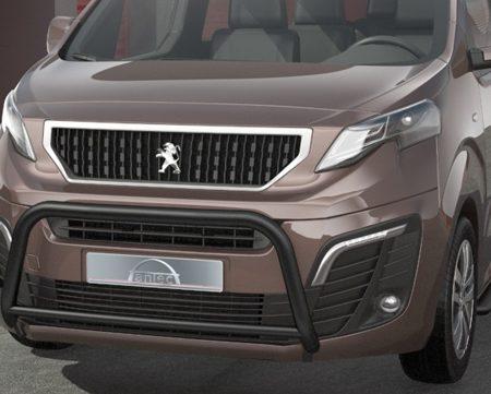 Peugeot Expert (2016-) – Antec Godkjent Frontbøyle/Lysbøyle m/tverrør