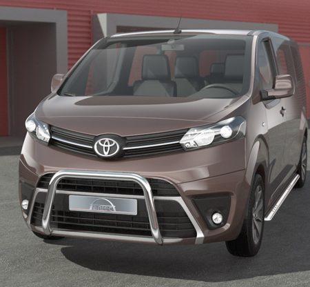 Toyota Proace (2016-) – Antec Godkjent Frontbøyle-Lysbøyle