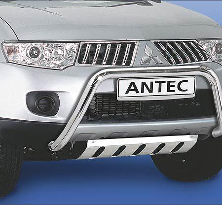 Mitsubishi L 200 (2010-) – Antec Godkjent Frontbøyle m/tverrør mulighet