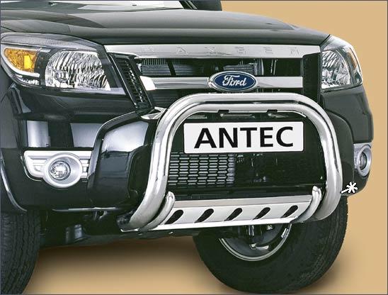 Ford Ranger (2007-) – Antec Godkjent Frontbøyle m/underbeskyttelse mulighet