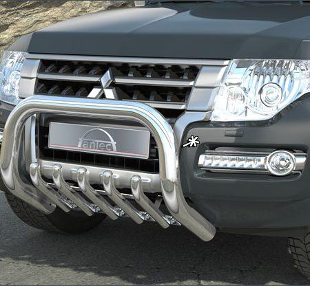 Mitsubishi Pajero V80 (2015-) – Antec Godkjent Frontbøyle m/underbeskyttelse mulighet