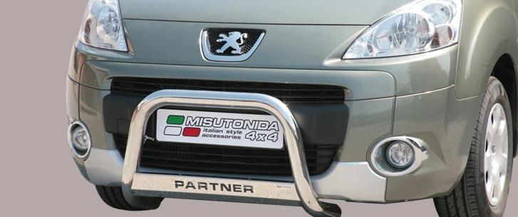 Peugeot Partner (2008-) – Misutonida 4×4 Godkjent Kufanger-Lysbøyle m/Logo