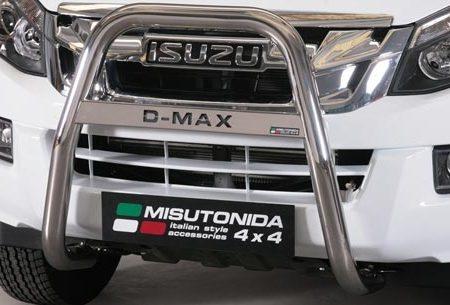 Isuzu D-Max Double Cab/Space Cab (2012-) – Misutonida 4×4 Kufanger-Lysbøyle m/Logo