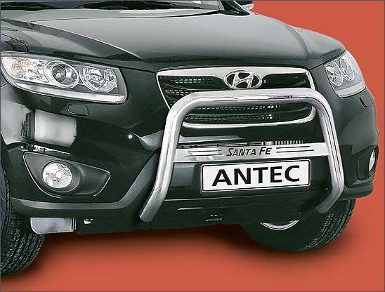 Hyundai Santa Fe (2010-) – Antec Godkjent Frontbøyle/Lysbøyle m/tverrprofil