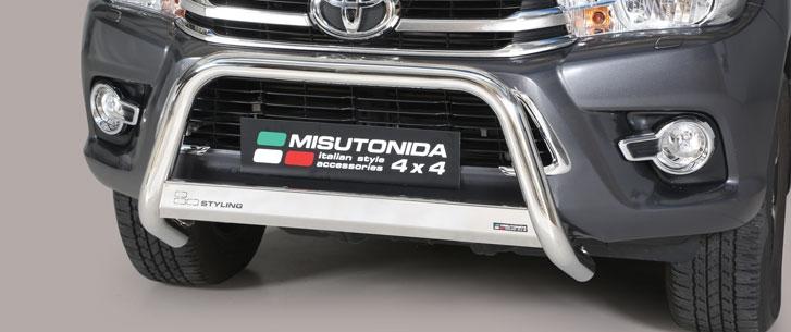 Toyota Hilux Double & Extra Cab (2016-) – Misutonida 4×4 Godkjent Kufanger-Lysbøyle
