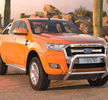 Ford Ranger (2016-) – Antec Godkjent Frontbøyle/Lysbøyle m/tverrør