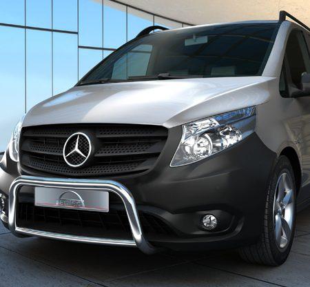 Mercedes Benz Vito W447 (2014-) – Antec Godkjent Lysbøyle/Frontbøyle m/tverrør