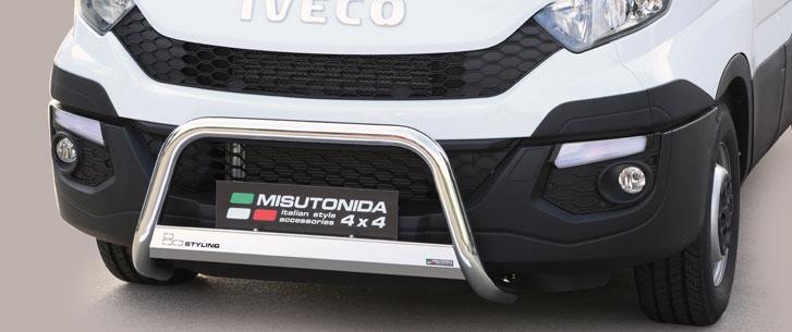 Iveco Daily (2014-) – Misutonida 4x4 Godkjent Kufanger-Frontbøyler