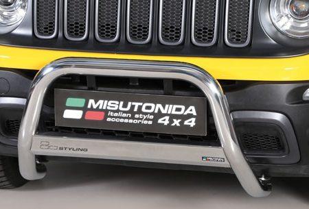 Jeep Renegade Trailhawk (2014-) – Misutonida 4x4 Godkjent Kufanger-Frontbøyler
