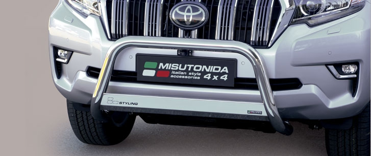 Toyota Land Cruiser (2018-) – Godkjent Misutonida 4×4 Kufanger-Lysbøyle
