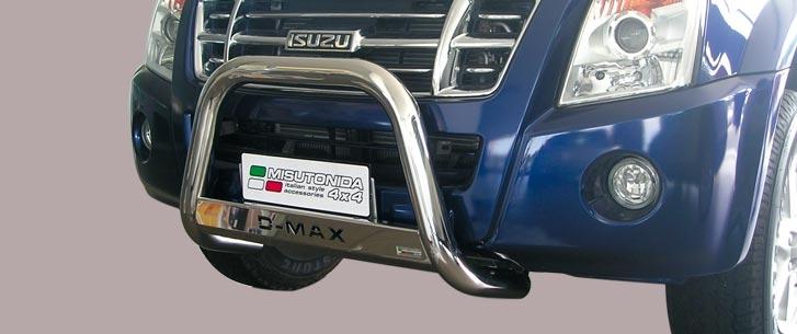 Isuzu D-Max Double Cab (2007-) – Misutonida 4x4 Godkjent Kufanger-Frontbøyler m/Logo