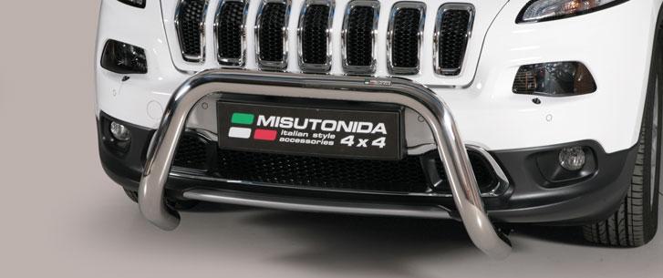 Jeep New Cherockee (2014-) – Misutonida 4x4 Godkjent Kufanger-Frontbøyler