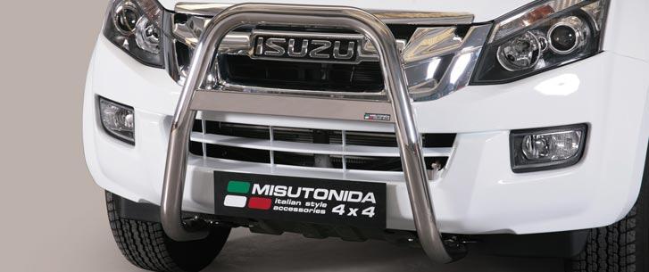Isuzu D-Max Double Cab/Space Cab (2012-) – Misutonida 4×4 Kufanger-Lysbøyle