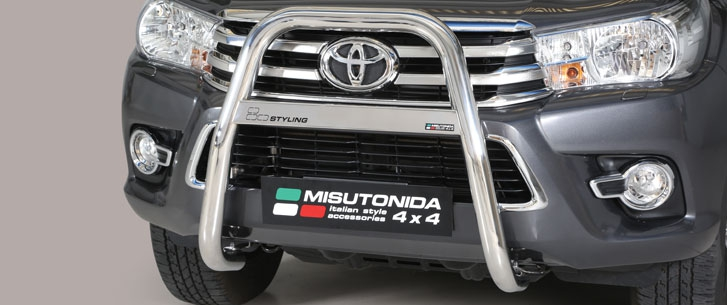 Toyota Hilux Double & Extra Cab (2016-) – Misutonida 4×4 Kufanger-Lysbøyle