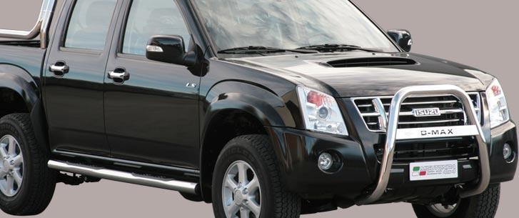 Isuzu D-Max Double Cab (2007-) – Misutonida 4×4 Kufanger-Lysbøyle m/Logo