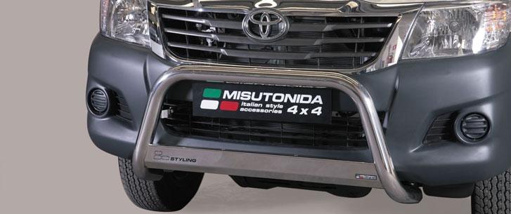 Toyota Hilux Double & Extra Cab (2011-) – Misutonida 4×4 Godkjent Kufanger-Lysbøyle