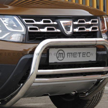 Dacia Duster (2010-) – Metec Godkjent Frontbøyle-Lysbøyle m/dobbelt tverrør