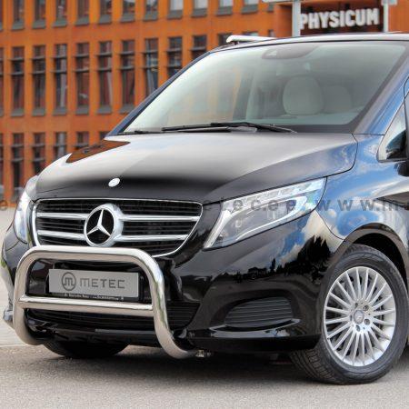 Mercedes-Benz V-Klasse (2014-) – Metec 4x4 Godkjent Frontbøyle-Lysbøyle m/tverrør