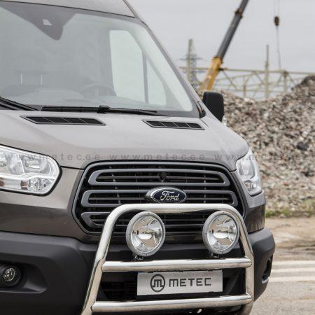 Ford Transit (2014-) – Metec 4x4 Frontbøyle-Lysbøyle m/tverrør
