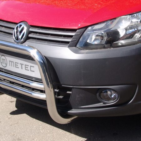 Volkswagen Caddy (2010-) – Metec 4x4 Godkjent Frontbøyle-Lysbøyle m/tverrør