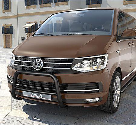 Volkswagen T6 (2015-) – Antec Godkjent Frontbøyle-Lysbøyle m/tverrør