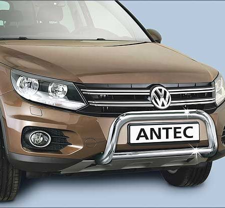 Volkswagen Tiguan (2011-) – Antec Godkjent Frontbøyle-Lysbøyle m/tverrør