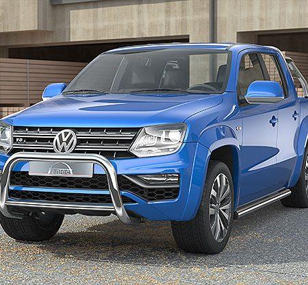 Volkswagen Amarok (2016-) – Antec Godkjent Frontbøyle-Lysbøyle m/tverrør