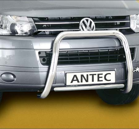 Volkswagen T5 (2009-) – Antec Godkjent Frontbøyle m/tverrør mulighet