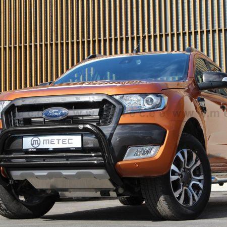 Ford Ranger (2012-) – Metec 4x4 Godkjent Frontbøyle-Lysbøyle m/tverrør