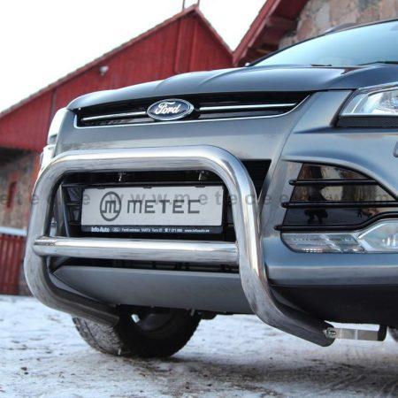 Ford Kuga (2013-) – Metec 4x4 Godkjent Frontbøyle-Lysbøyle m/tverrør